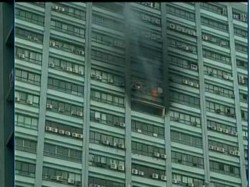 Fire In Chatterjee International Building Near Park Street