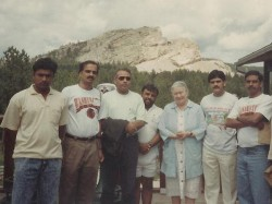 In Pic Narendra Modis Blast From The Past Pics From 90s Us Trip