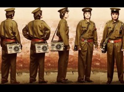 Pk Motion Poster Anushka Features In Not One But Five Different Looks