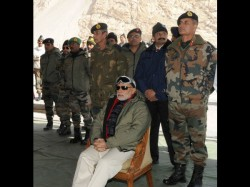 Narendra Modi Spends First Diwali As Pm With Indian Army In Freezing Siachen