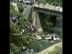Nine Passengers Killed In Bus Accident In Assam