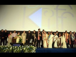 Bachchan Family Srk Bollywood Fireup The Opening Ceremony Of Kolkata Film Festival