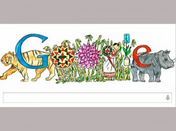 Google Makes Doodle For Childrens Day