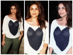 Parineeti Chopra Major Wardrobe Malfuntion Manish Malhotra Birthday Bash