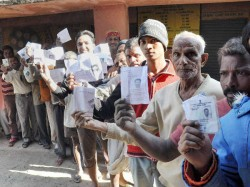 Fourth Phase Of Polling In Kashmir And Jharkhand