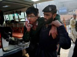 Terrorists Attack School In Peshawar 3 Killed