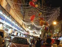 Kolkata Police Tights Vigil At Esplanade And Park Steet For Tonight