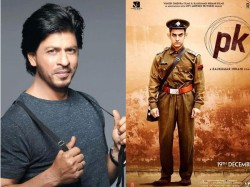 Shahrukh Khan Comment On Aamir Khan Pk Controversy