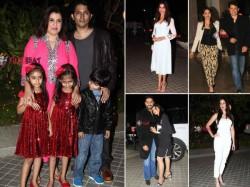 Bollywood Celebrities At Farah Khan 50 Birthday Bash