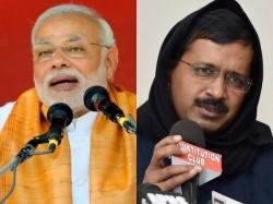 Dont Want Anarchists Pm Modi Mocks Kejriwal At Delhi Rally