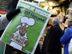 Charlie Hebdo Starts Its Journey Again Publishes Cartoon Of Prophet Mohammad
