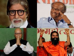 Advani Amitabh Ramdev Rajnikant In Speculative Padma Awards List