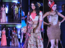 Showstopper Mugdha Godse In A Dress Made Of Condoms Pictures