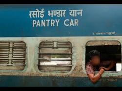 Shocker From Indian Railways Video Shows Man Urinating Kitchen