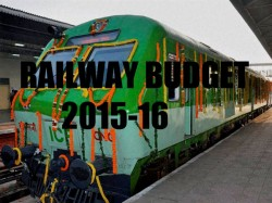 Rail Budget 2015 Suresh Prabhu To Present The Budget At 12 Noon