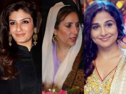 Not Vidya Balan Raveena Tandon To Play Benazir Bhutto In Biopic