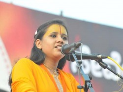 Vhp S Sadhvi Saraswati In Soup For Inflammatory Speech