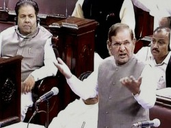 Sharad Yadav Continues Sexist Rant Tells Smriti Irani I Know What You Are