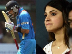 Ind Vs Aus Semi Final Match Virat Kohli Out Anushka Sharma Pic Twitter Reactions