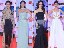 Ht Most Stylish Awards 2015 Red Carpet Aishwarya Rai Deepika Padukone Shraddha Kapoor
