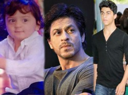 Srk To Launch Sons Aryan And Abram In Boyhood Remake