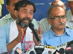 Aap Is Not Just Arvind Kejriwals Party Says Prashant Bhushan At Rebels Meet