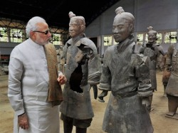 Narendra Modi In China Terracotta Museum Jokes Memes On Twitter India