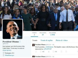 Barack Obama Finally Given His Own Twitter Account