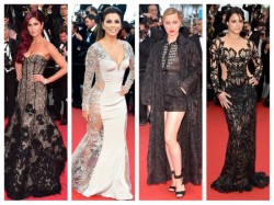 Cannes 2015 10 Best Lace Gowns So Far