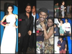 Deepika Padukone Hosts Piku Success Bash Shahrukh Ranveer Celebs Attend