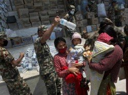 Indian Relief Materials For Nepal Found Substandard