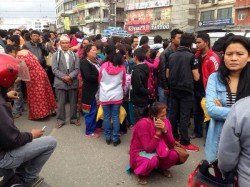Dies In Fresh Earthquake In Nepal Today 3 Building Collapses