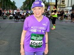 Us Woman 92 Sets Record For Oldest Woman Marathoner