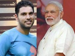 Not Selfie But Velfie How Yuvraj Singh Brought Smile On Pm Narendra Modi S Face