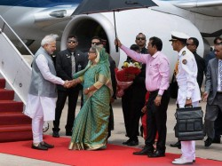 Dhaka Modi Has Packed Schedule On Day