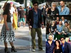 Pics Shahrukh Kajol On Diwale Sets