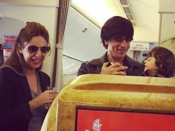 Shahrukh Khan Shares Cute Pictures Of Abram Khan With Cousin Alia