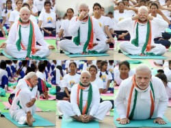 India Scripts History Enters Guinness Book For Yoga