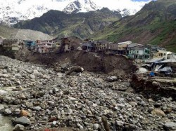 Heavy Rains Wash Away Vital Bridge On Way To Kedarnath