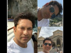 Photos Sachin Tendulkar Holidaying In Italy With Family