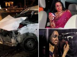 Hema Malini Injured In A Car Accident Near Jaipur Five Year Old Girl Dead