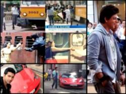 Dilwale Shahrukh Kajol Shoot Train Scene Varun Shares Song Shooting Pics
