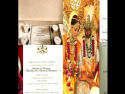Pictures Leaked Wedding Cards Of Shahid Aishwarya Kareena Other Bollywood Celebs