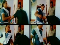Girl Thrashes Eve Teaser Inside Police Station In Uttar Pradesh