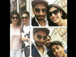 Leaked Pictures Deepika Padukone Ranveer Singh Spotted Together In London