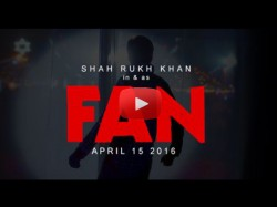 Watch Fan Teaser Larger Than Life Shahrukh Khan His Crazy Fans