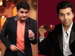 Report Karan Johar To Replace Kapil Sharma On Comedy Nights With Kapil