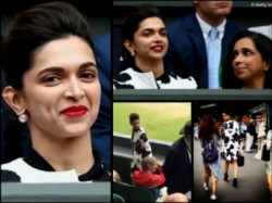 Deepika Padukone Grabs Headlines At Wimbledon London