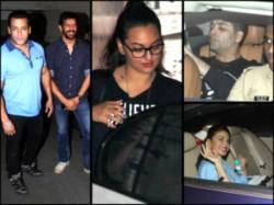 Bajrangi Bhaijaan Spl Screening Salman Celebs Watch The Film