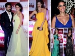 Virat Kohli Anushka Sharma Celebs Who Rocked Vogue Beauty Awards